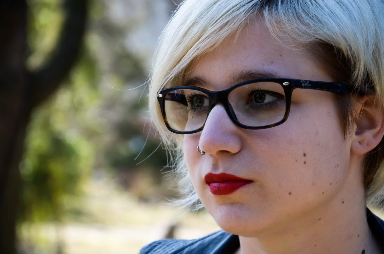 Tóth Barbara, a Pécsi Tudományegyetem BTK HÖK elnöke, és a 30y menedzsere.